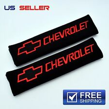 CHEVY SHOULDER PADS SEAT BELT 2PCS CAMARO IMPALA SS CHEVROLET SP37