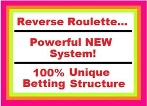 BEST ROULETTE SYSTEM IN THE WORLD