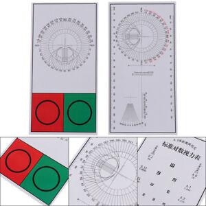 Optical Visual Chart 30Cm Eye Chart Visual Testing Chart Eye/Vision Exam Ch.TU