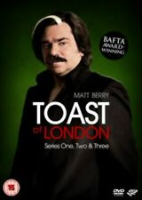 Toast of London Series 1-3 DVD R4 - VGC