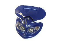 Universal Bike Headlights - Blue Color - Gas Motorized Bicycle
