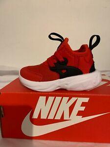 nike RT presto {td} CU4868 600 university red/white-black toddleers shoes unisex