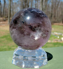 Large Smoky Amethyst Sphere / Crystal Ball