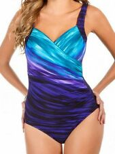 Miraclesuit Deep End Sanibel wire DD Cup One Piece Swimsuit 451763DD BNWT AU 20