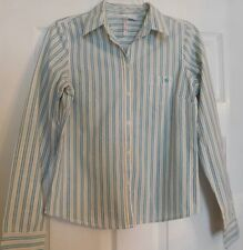 Women's Aeropostale Long Sleeve Button Up Front Shirt Size Small S