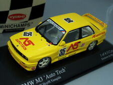 "1/43 Kyosho BMW M3 #35 ""AUTO TECH"" JTCC 1988  - LIMITED EDITION"