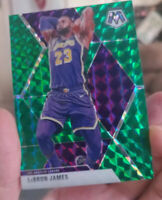 2019-20 Lebron James #8 Lakers & Anthony Davis Mosaic Green's. Lakers Dynasty...