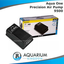 Aqua One Precision 9500 Aquarium Air Pump  Fish Tank Aerator, Oxygen, Bubbles