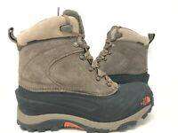 NEW! The North Face Men's Lace Up Hiking Boots Brown/Black #NF0A39V6 156K kk