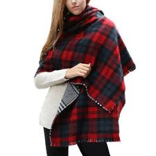 Châles/écharpe rouge en 100% cachemire pour femme
