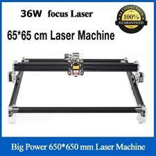 36000mw Cnc Blue Laser Engraving Machine 36w Cutter 650x650mm Diy Engraver Lazer