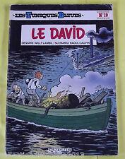 LES TUNIQUES BLEUES N°19 EDITION SOUPLE 1982 EO LE DAVID