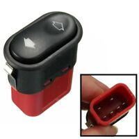 Car Electric Window Toggle Switch Red Left/Right For FORD TRANSIT MK6
