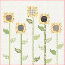 """Scrappy Sunflowers by Lella Boutique, #164, 66"""" x 66"""""""