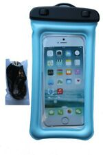 TSD Waterproof Floater Cell Phone Case For Smartphones iPhone, Samsung (Blue)