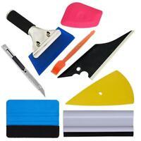 8PCS Car Window Tint Wrapping Vinyl Tools Squeegee Scraper Applicator Kits