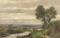 Abraham Hulk Junior (1851-1922) - Early 20th Century Oil, Landscape with Cottage