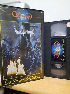 Vhs Les Sevices De Dracula Scherzo RARE Cushing