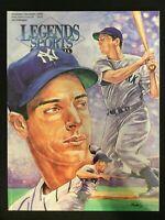 Legends Sports Memorabilia Magazine  Nov/Dec 1995  *Joe DiMaggio Edition   M1666