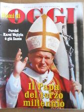 NOMI di OGGI n°1 2005 - Karol Wojtyla Papa del Terzo Millenio   [D54]