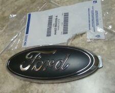 """2010-2014 Ford Raptor tailgate emblem matte black  9"""" w/o backup camera"""