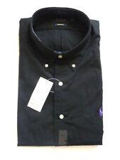 Camisas y polos de hombre negras 100% algodón talla XXL
