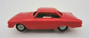 LOOK! 1960`S HUBLEY 1/43 SCALE FORD FALCON COUPE ORIGINAL VINTAGE SLOT CAR!