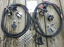 Handlebar Wiring Kit Chrome Switches 1996-2006 for Harley Touring w/Radio/Cruise