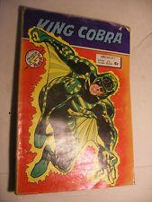 MARVEL DC Comics Flash FRANCE BD AREDIT KING COBRA n° 7