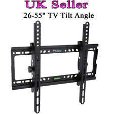"Solid Tilt TV Wall Bracket Vesa Mount for LCD LED Plasma Television 26–50"" Sale"