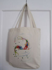 Kissing 2 Koi fish Carp Art Chinese brush painting Heavyweight Canvas Tote Bag