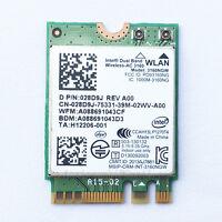 Intel Dual Band Wireless-AC 3160 3160NGW NGFF Bluetooth 4.0 Wifi WLAN card 28D9J