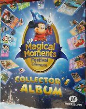 Morrisons Magical Moments Festival Disney Land Paris Collecter's Album Complete