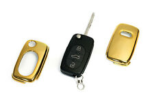 Early Audi GOLD Remote Flip Key Cover Case Skin Shell Cap Fob Protection S Line-
