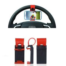 Supporto Universale Auto Car per Samsung I9305 I9300 Galaxy S III Sterzo Volante