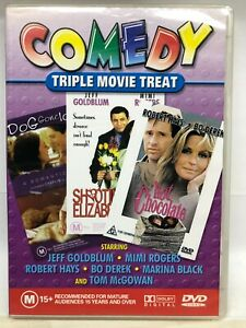 Comedy Triple 3 Movie on 1 DVD Pack - AusPost with Tracking