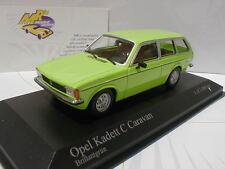 "400048110 - Opel Kadett C Caravan Baujahr 1978 "" brilliantgrün "" 1:43 NEUHEIT"