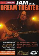 LICK LIBRARY Learn to Play JAM WITH DREAM THEATER Pull Me Under Hits GUITAR DVD