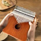 21 Key Kalimba Thumb Piano Mbira Musical Instrument Gear Mahogany Wood Hammer
