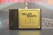 Miller graphhique series gold cartridge rom walther miller msx