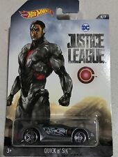 2017 HOT WHEELS DC UNIVERSE Justice League Cyborg Quick N' Sik