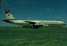 C0703mdt Transport American Airlines 707 Aircraft postcard