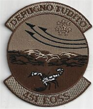 USAF 451ST EXPEDITIONARY OPERATIONS SUPPORT SQ  PATCH -                  DESERT