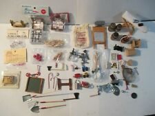 Lot Vintage Doll House / Craft Accessories / Miniatures