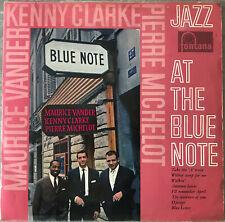 MAURICE VANDER CLARKE MICHELOT Jazz At The Blue Note 1961 LP Jazz Fontana