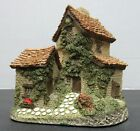 """David Winter Cottages """"Ivy Cottage"""" 1982 Handmade with Original Box and COA"""