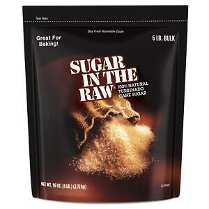 Sugar in the Raw Natural Cane Turbinado Sugar (6 lbs.)