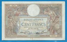 GERTROLEN  Billet 100 FRANCS  Luc Olivier Merson 19-5-1939  W.66666 RARE