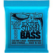 Ernie Ball RoundWound Extra Slinky Bass Guitar Strings 2835 - 40-95