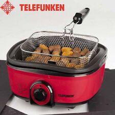 Friggitrice Fornello Multifunzione 5LT Cucina 7In1 Multi Cooker 1300W Telefunken